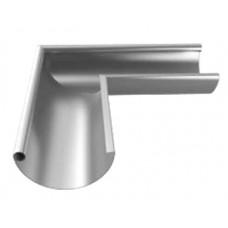 Udvendigt hjørne T120 - Blank aluminium