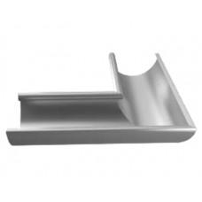 Indvendigt hjørne T120 - Blank aluminium